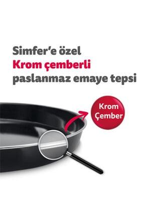 Simfer 4559 Inox 45 Litre Turbo Midi Fırın 4