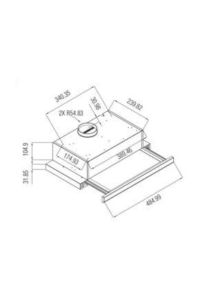 HİBSAN 8062 X 60 Inox Aspiratör 1
