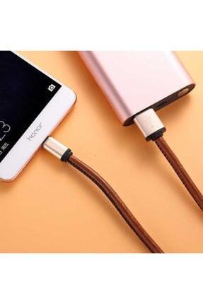 Xipin Lx1385 Cable Type-c Şarj Ve Data Kablosu Deri 1m. 2.1a Gold 3