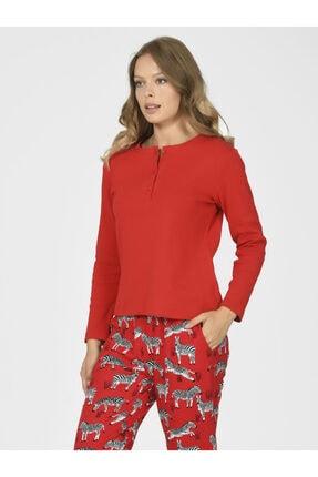 Nbb Zebralı Kadın Pijama Takımı 67035 0