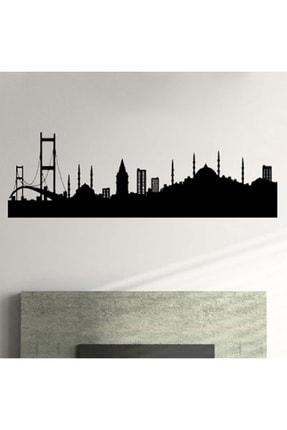Svava Istanbul Siluetli Metal Led Işıklı Duvar Panosu 0