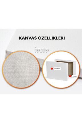 Dekoliya Osmanlı Dönemi Kanvas Tablo 80x120 Cm 3