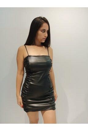 Deri Elbise 6344