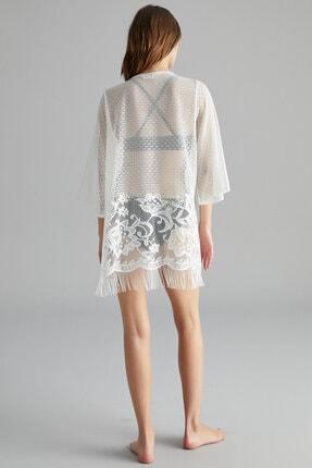 Penti Beyaz Lace Kimono 2