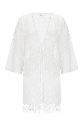 Penti Beyaz Lace Kimono 3