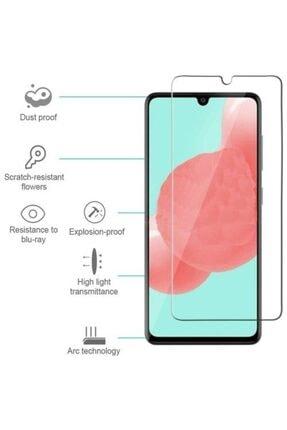 Glass Samsung Galaxy A51  Uyumlu Kırılmaz Çizilmez Şeffaf Cam Koruyucu 1