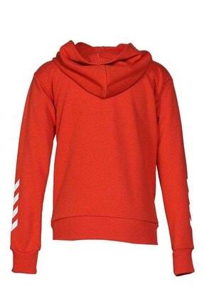 HUMMEL Çocuk Olivia Fermuarlı Kırmızı Sweatshirt 920995-3840 2