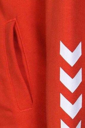 HUMMEL Çocuk Olivia Fermuarlı Kırmızı Sweatshirt 920995-3840 3