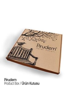 Pirudem Hedef  Metal Duvar Saati  50x50 cm 4