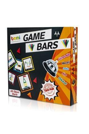 BEMİ Game Bars - Mantık Eğitici Zeka Strateji Çocuk Ve Aile Oyunu - Lüks Doğal Ahşap Kutu Oyunu 1
