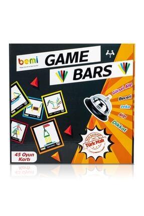 BEMİ Game Bars - Mantık Eğitici Zeka Strateji Çocuk Ve Aile Oyunu - Lüks Doğal Ahşap Kutu Oyunu 2