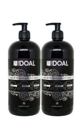 DOAL Keratin Sütü 1000+1000 ml 2 Şişe - Güçlü Ve Hızlı Uzayan Saçlar Keratin2sut 0