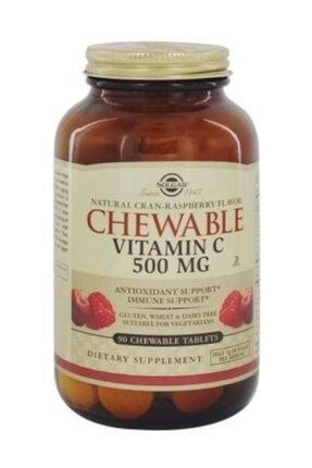 Solgar Chewable Vitamin C 500 mg 90 Tablet 0