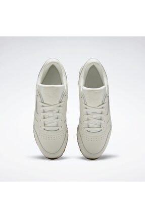 Reebok Eh1664 Classic Leather Kadın Günlük Spor Ayakkabı Beyaz 4
