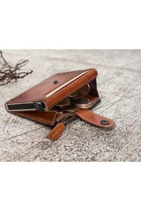 Bouletta Deri Kartlık-cüzdan Rfıd Rst2ef Taba 1