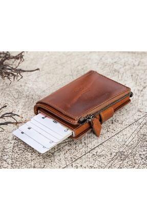 Bouletta Deri Kartlık-cüzdan Rfıd Rst2ef Taba 2