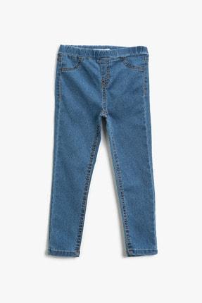 Koton Kız Çocuk Orta Indigo Jeans 1YKG47329OD 0