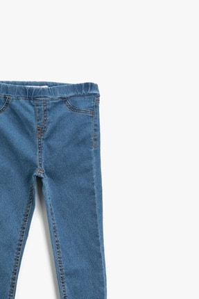 Koton Kız Çocuk Orta Indigo Jeans 1YKG47329OD 2