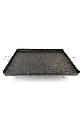 Kayso Granit Ocak Üstü Pisirme Sacı Izgara Kulplu 45x45 2