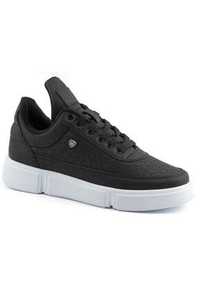 L.A Polo Erkek Siyah Renk Beyaz Taban Spor Ayakkabı 017 0