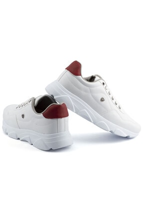 L.A Polo Erkek Beyaz Taban Spor Ayakkabı 019 3
