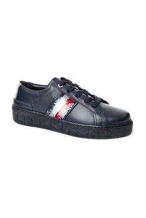 Tommy Hilfiger Kadın Lacivert Sneaker FW0FW03704 3