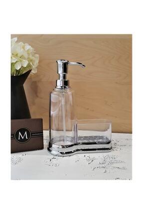 MADAM İZMİR Gümüş Akrilik Sıvı Sabunluk 0