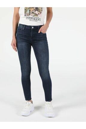 Colin's Mavi Koyu Mavi Kadın Pantolon .CL1053657_Q1.V1_DN08527 0
