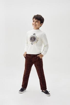Erkek Çocuk Kahve Pantolon 20fw0nb3226 resmi