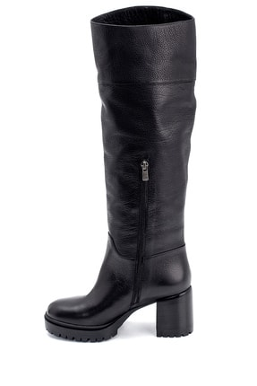Derimod Kadın Deri Topuklu Çizme 3