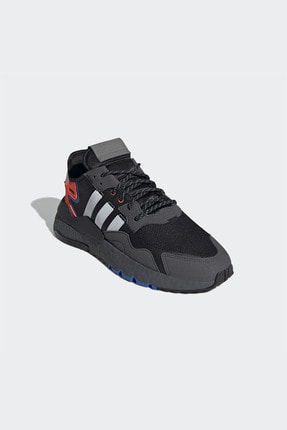 adidas Erkek Siyah Bağcıklı Sneaker 3
