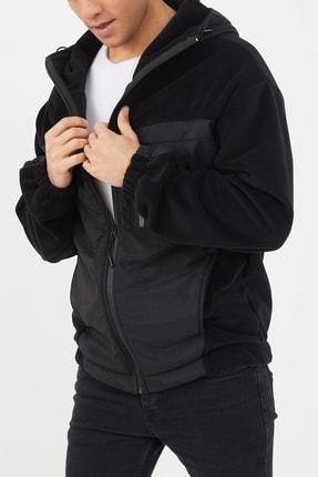XHAN Siyah Polar Garnili Yağmurluk 1kxe4-44460-02 1