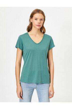 Koton Kadın Pembe T-shirt 0