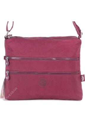 Smart Bags 1185 Postacı Kadın Çantası Bordo 1