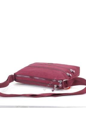 Smart Bags 1185 Postacı Kadın Çantası Bordo 2