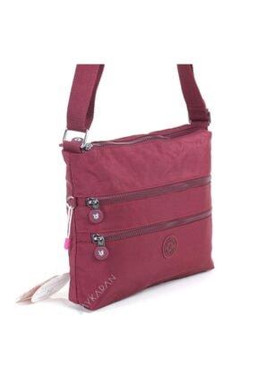 Smart Bags 1185 Postacı Kadın Çantası Bordo 3