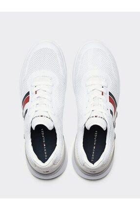 Tommy Hilfiger Erkek Th Lightweight Corporate Runner Sneaker 3
