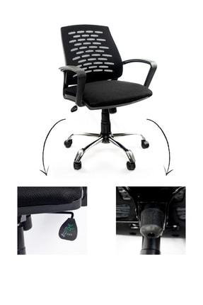 GREY Ev Ofis Çalışma Sandalyesi Bilgisayar Koltuğu 1