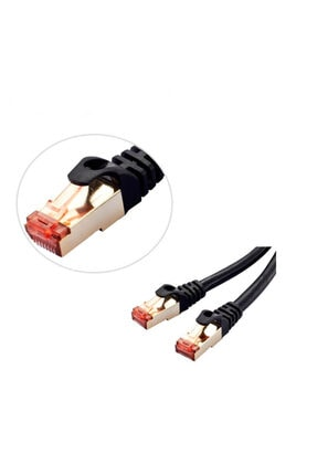 WOZLO 10 Metre Cat7 Patch Kablo - Cat 7 Stp Ethernet Kablosu - Internet 1