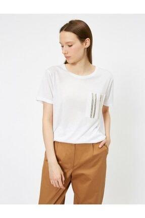 Koton Pullu Kadın Tişört 1