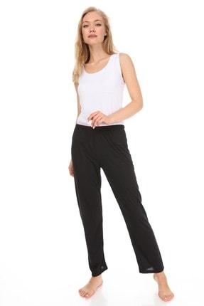 Vivoon Kadın Siyah Supreme Kumaş Pijama Altı 0