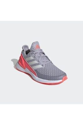 adidas Kadın Gri - Pembe Rapidarun Ayakkabı Antrenman Ayakkabısı 2