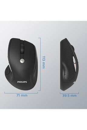 Philips 7 Tuşlu Ultra Sessiz Wireless Kablosuz Mouse 1