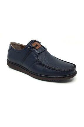 Taşpınar Üçlü %100 Deri Yazlık Tam Rok Erkek Ortopedik Ayakkabı 39-45 0
