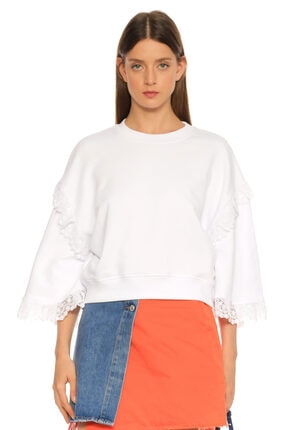 MSGM Beyaz T-shirt 0