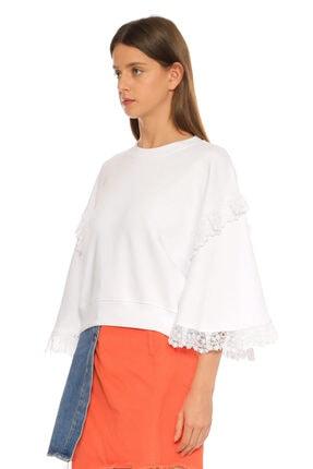 MSGM Beyaz T-shirt 3