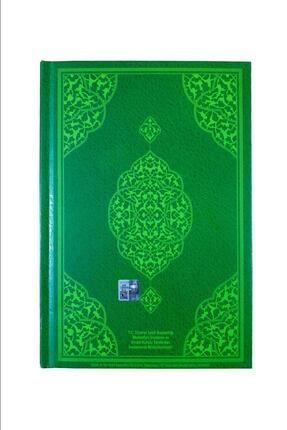Furkan Neşriyat Cami Boy Kuranı Kerim Iri Yazılı Yeşil Renkli 4