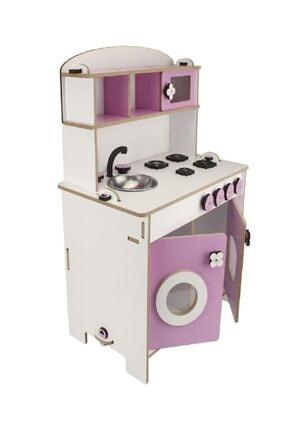 WoodyLife Çocuk Oyuncak Mutfak Seti Montessori Kız Evcilik Oyuncak 1