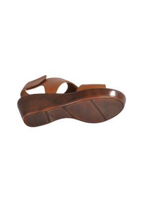Pierre Cardin Pc-2679 Z.sandalet Taba Kadın Sandalet 3