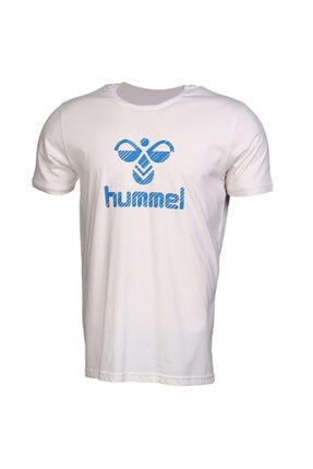 HUMMEL Rob Kısa Kollu Beyaz Tişört 1